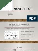 Las Mayusculas