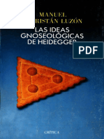 Sacristan Luzon Manuel - Las Ideas Gnoseologicas De Heidegger.pdf