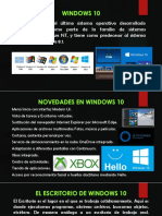 Entorno de Windows 10 y el escritorio