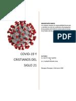 Coronavirus y Cristianos del Siglo 21