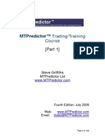 MTPredictor Trading Course - Part 1