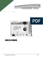 Manual electrocauterio AARON 940