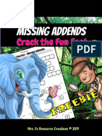 Missing Add Ends Math Worksheet Free Crack the Fun Fact