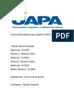 PERFIL DEL DOCENTE (UAPA)