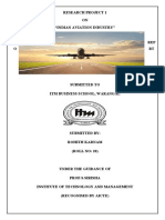 The Indian Aviation Industry