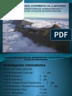 Aspectos Organizacionales CICPC