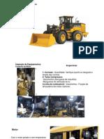 treinamento técnico Inspeção mecanica em pá carregadeia