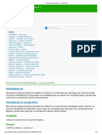 Funciones estadísticas 4 - LibreOffice Calc