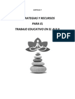 ESTRATEGIAS RECURSOS EN AULA TEA