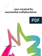 The values created by successful collaboration
