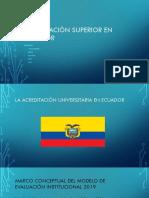 Grupo 03 - Sistema de Acreditación en Ecuador