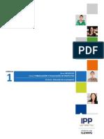 M1 - Formulación y evaluación de proyectos