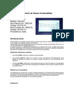 Detector de gases combustibles