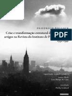 Friedrich, Pollock. Crise e transformação estrutural do capitalismo