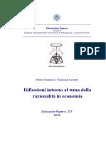 RAZIONALITA' IN ECONOMIA.pdf