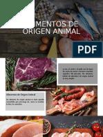 Alimentos de Origen Animal