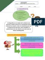 Guia pedagogica  grado 4 la biografia.