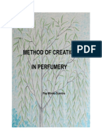 Method of Creation in Perfumery