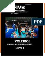 LIBRO Manual de Entrenadores de Voleibol  Nivel  2 Bis  FIVB.pdf