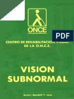 Vision subnormal RJose