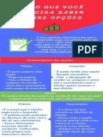Infográfico Tudo que você precisa saber sobre opções