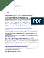 AFRICOM Related Newsclips December 14, 2010