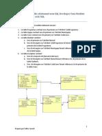Utilisation du modèle relationnel sous SQL Developer