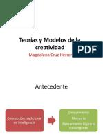 Teorías y Modelos de la Creatividad