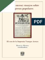 El Imparcial, fuente noticiosa de crímenes en hojas volantes de Vanegas Arroyo