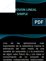 Clase 9. REGRESION LINEAL SIMPLE