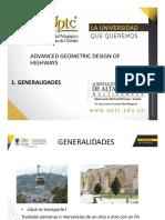 CAP1. Generalidades Diseño Geométrico