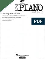 Escalas de Jazz Piano IX y X