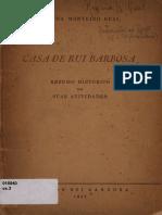 Casa de Rui Barbosa - Resumo de suas Atividades OCR.pdf