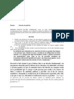 Derecho de peticion  CLARO -CONCEL S.A.