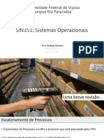 Sistemas Operacionais - Escalonamento de Processos