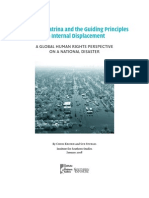 Hurricane Katrina and the Guiding Principles on Internal Displacement