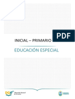 Educacion Especial  DGE - Coronavirus