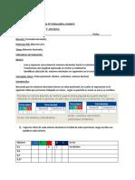 Guía de trabajo N° 1   5° Básico
