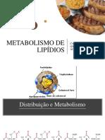 Metabolismo de lipídeos aula 2