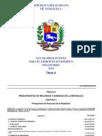 Ley de Presupuesto 2016 Título II.pdf