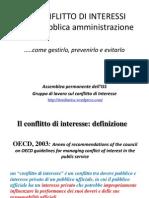 Assemblea ISS del 10.12.10 - Gestione conflitto interessi