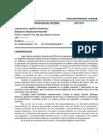 PLA Organización Industrial 2019 AA