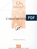 L'argumentation - Christian Plantin  (2)