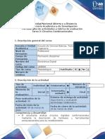 Guía de Actividades y Rúbrica de Evalación - Tarea 2 - Circuitos Combinacionales (2)