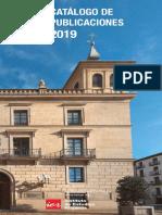 Catálogo de Publicaciones IER,2019