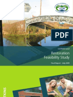 Lichfield and Hatherton Canal_feasibility Report_Atkins