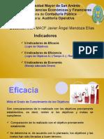 JAVIER MENDOZA INDICADORES 3Ea
