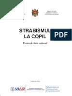 protocol urmarire strabism