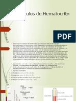 CALCULO HEMATOCRITO