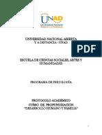 PROTOCOLO ACADÉMICO - CURSO PDHyF
